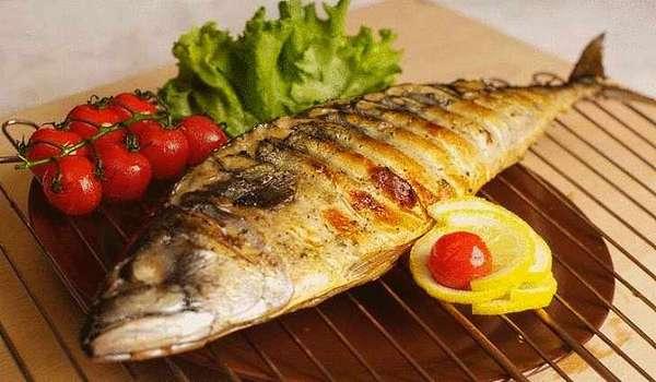 Рыба тунец (приготовленная)