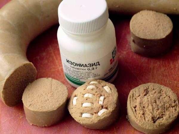 Отравление противотуберкулезным препаратом Изониазидом