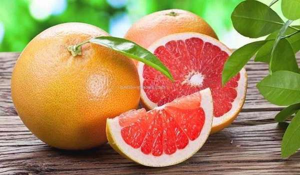 Грейпфрут содержит углеводы