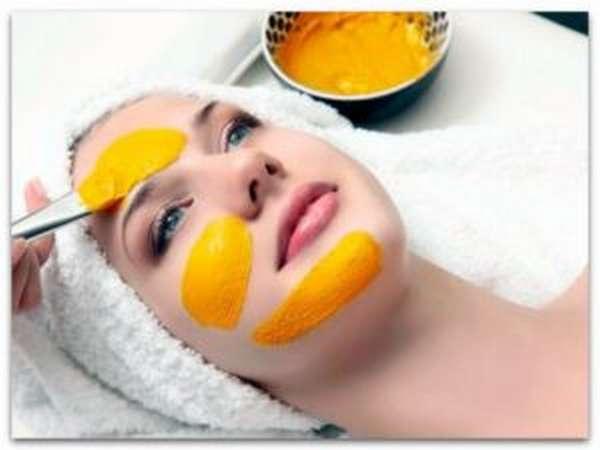 Маска из куркумы для удаления волос на лице