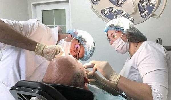 Оперативное лечение остеомиелита нижней челюсти