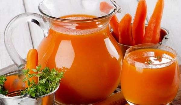 Морковный сок от гастрита