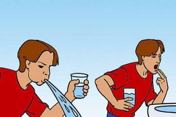 Что делать, отравившись перекисью водорода