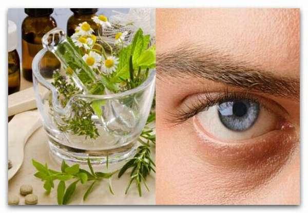 Народные средства лечения глаз