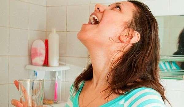 Воспаление горла - домашние средства