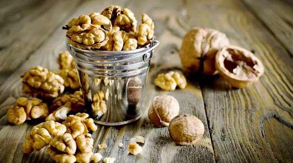 Приготовление отвара из грецкого ореха