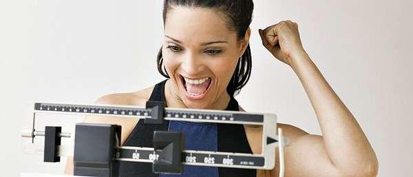 Радость от потери веса организма