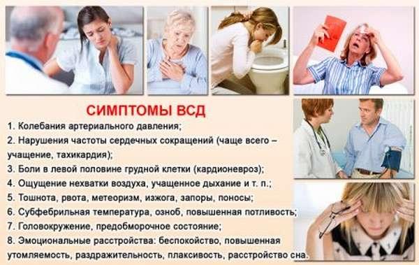 Основы питания при ВДС, определение, симптомы патологии, продукты, полезные советы