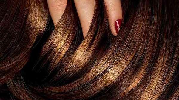 Окрашенный волос
