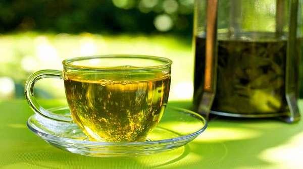 Жиросжигающий зеленый чай