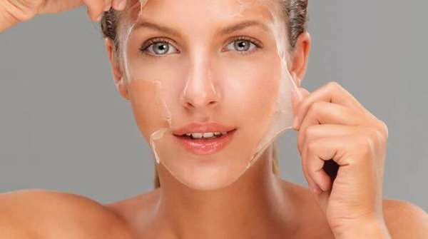 Желатиновая маска от морщин