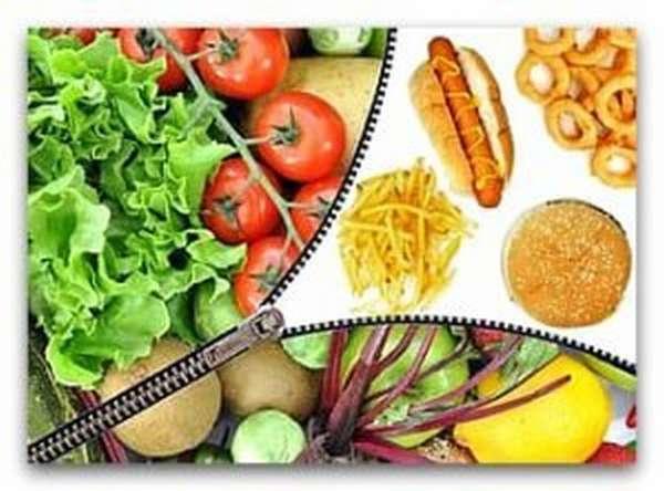 Полезные продукты для здоровья и вредные