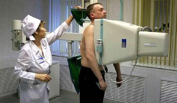 Флюорография или рентген грудной клетки