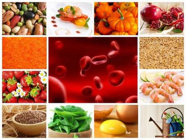 Причины снижения гемоглобина, продукты, повышающие показатель, правила питания
