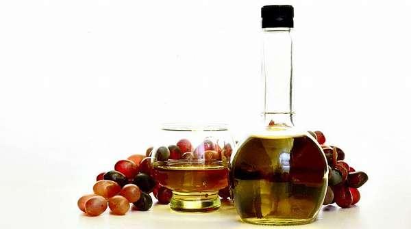 Виноград и настойка