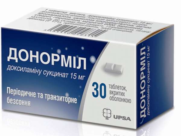 Передозировка и отравление донормилом: симптомы и последствия