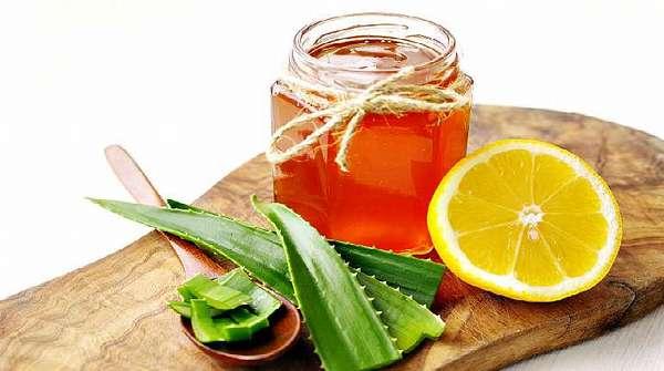 Алоэ, мед, лимон