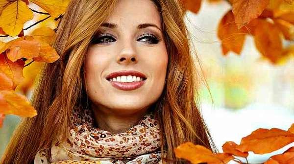 Красивая женщина