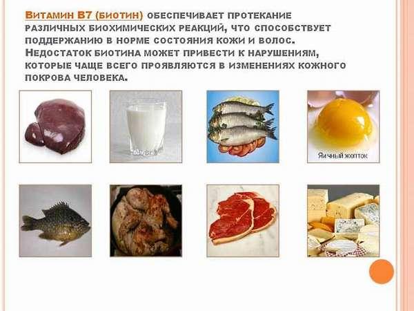Витамин Н (биотин) - эффектная внешность