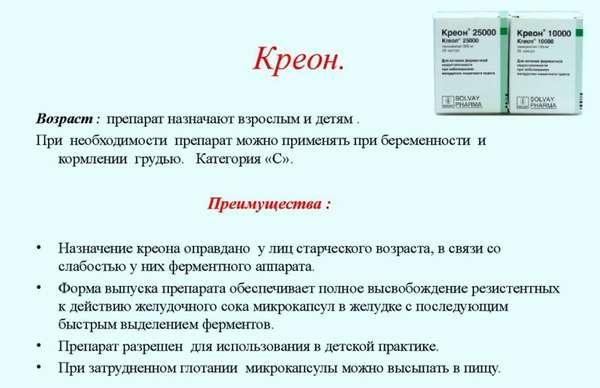 Отравление креоном: признаки и первая помощь
