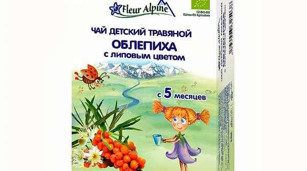 Детский травяной чай