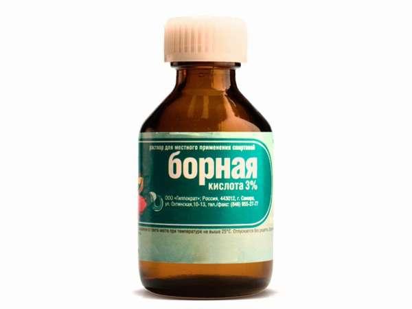 Отравление борной кислотой, симптомы и помощь