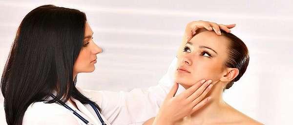 На приеме у косметолога