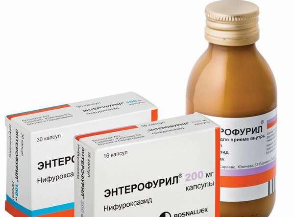 Передозировка энтерофурилом