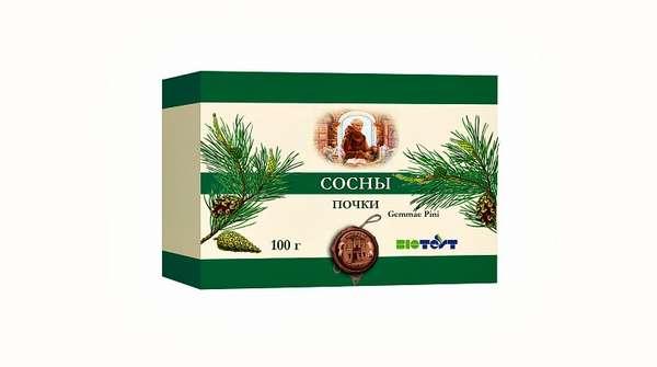 Аптечный чай из сосновых почек