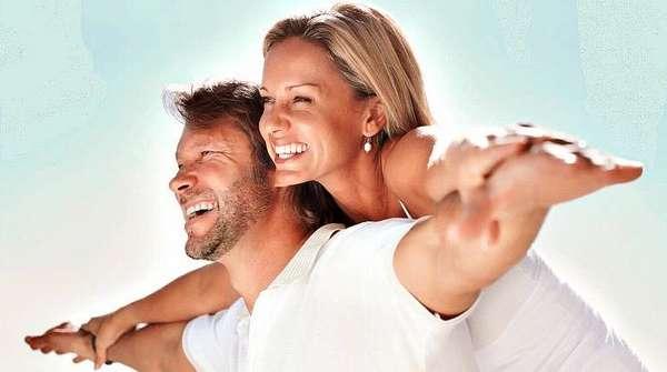 Здоровая и жизнерадостная пара