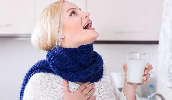 Рецепты для горла при ангине