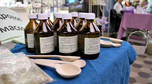 Употребление кедрового масла