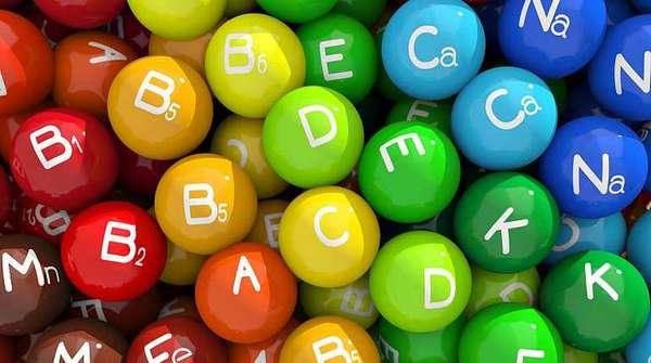 Микроэлементы и витамины