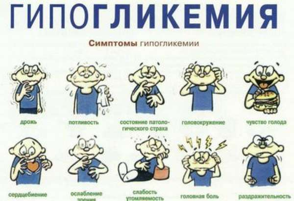 Гипогликемия какие симптомы