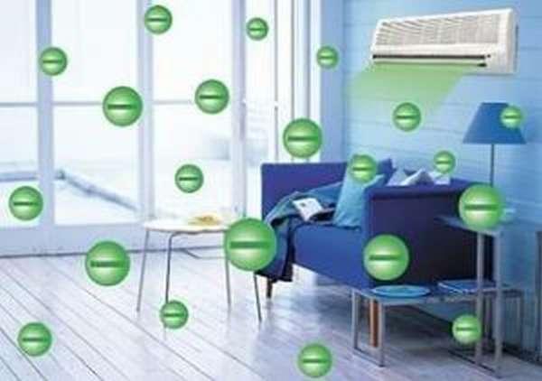 Озонатор очищает воздух