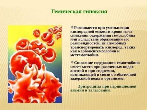 Причины появления метгемоглобина и симптоматика метгемоглобинемии, прогнозы