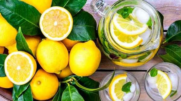 Отвар из лимонов
