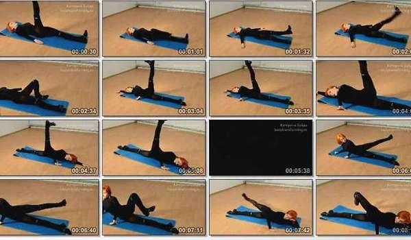 Упражнения против ушек на бедрах