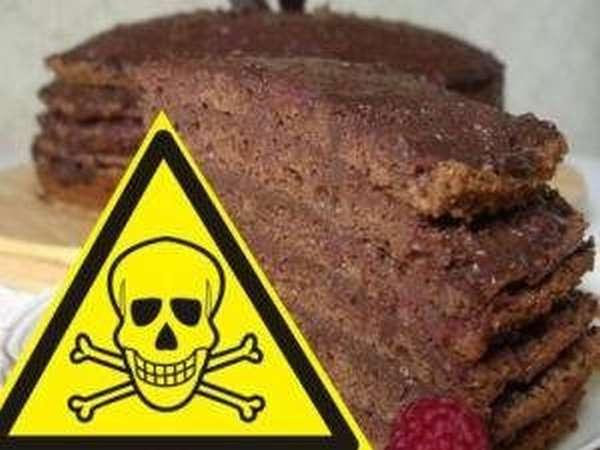Отравление тортом