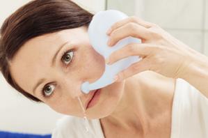 Промывание носоглотки