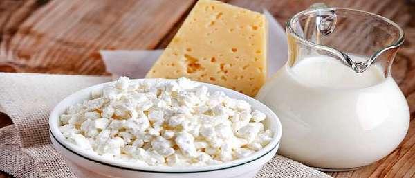 Творог, молоко, сыр