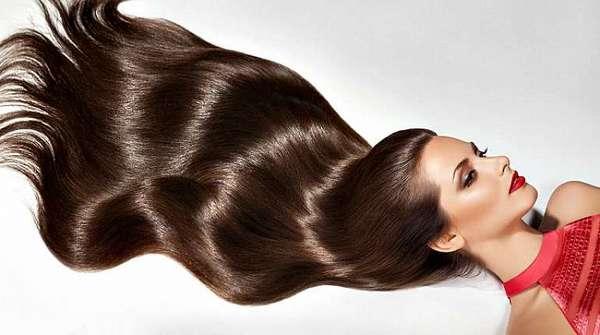 У нее роскошные волосы