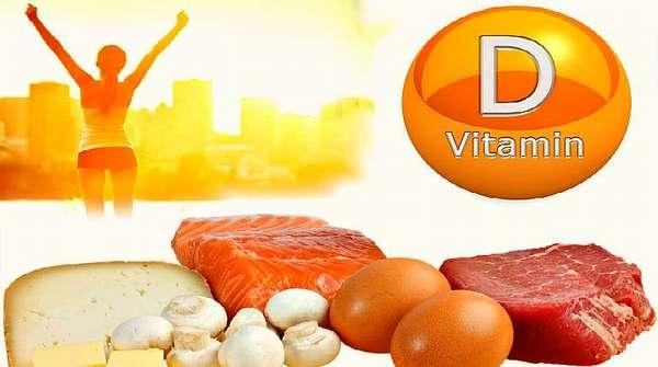 Натуральные продукты с витамином Д