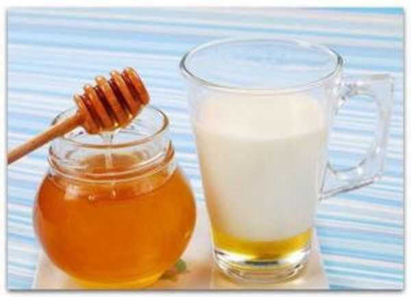 Кефир с медом