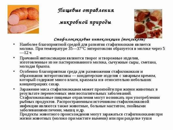 Пищевое отравление стафилококком: причины и лечение