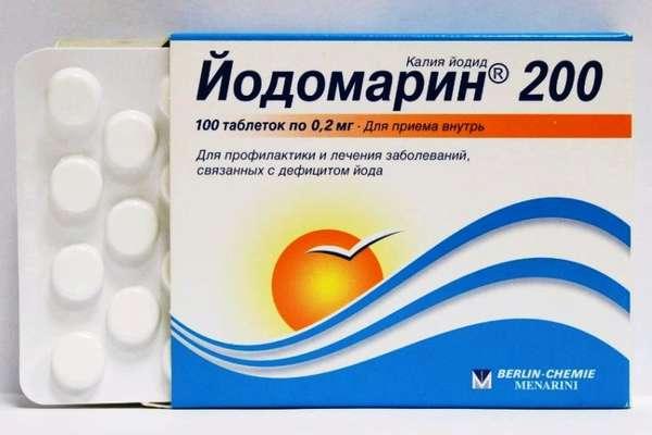 Передозировка йодомарина: симптомы отравления