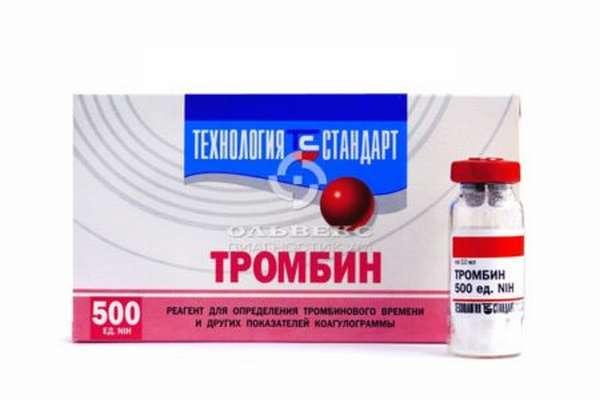Показания к назначению препаратов, повышающих свертываемость крови
