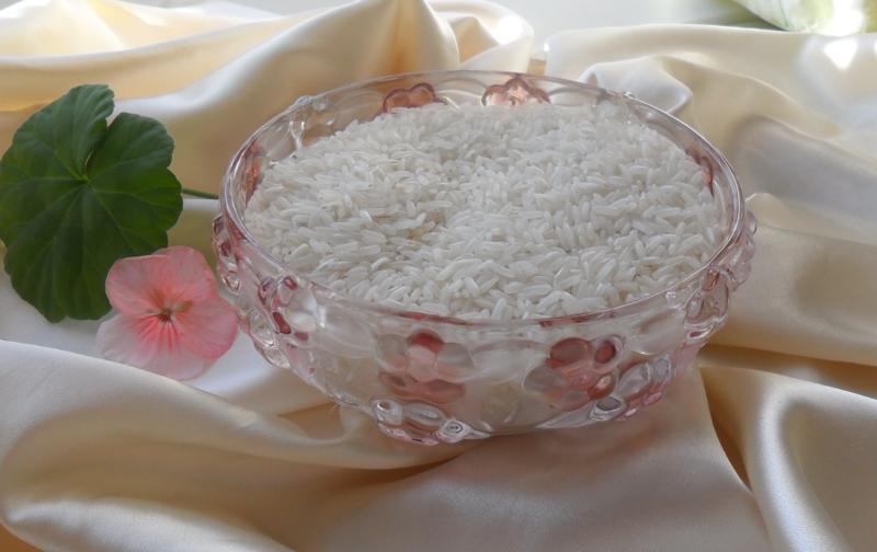 Рис для чистки организма