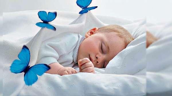 Ребенок сладко спит