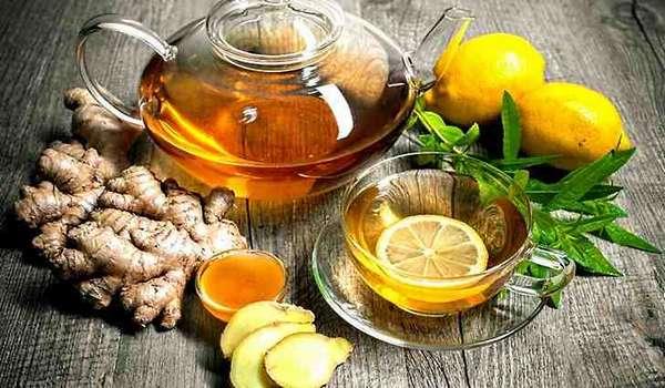 Лечение аденоидов - имбирный чай